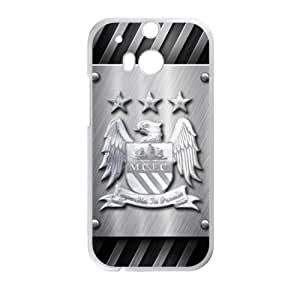 Happy Manchester City Logo Phone Case for HTC One M8