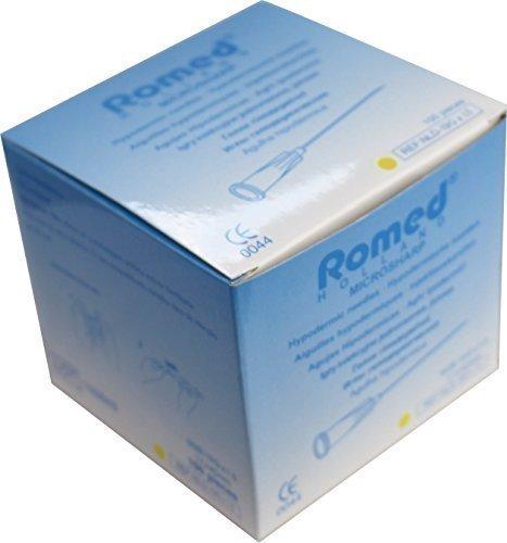 100 Einmalkanülen, einzel steril verpackt 19 G x 1,5