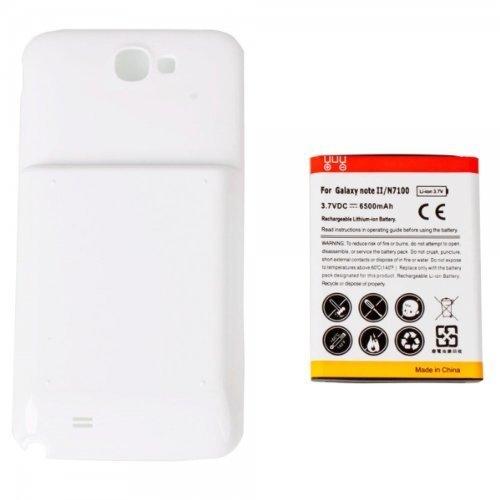 Amazon.com: 6800mAh Batería Extendida con Carcasa Blanca ...