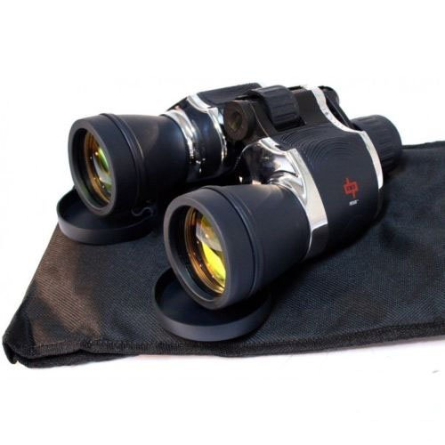 Day/Night 20x60 High Quality Outdoor Chrome Binoculars w/Pou
