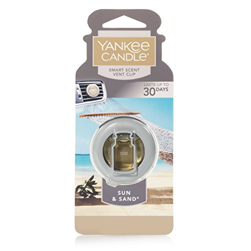 Yankee Candle Company CAR VENT CLIP HW SUN & SAND, Smart Scent