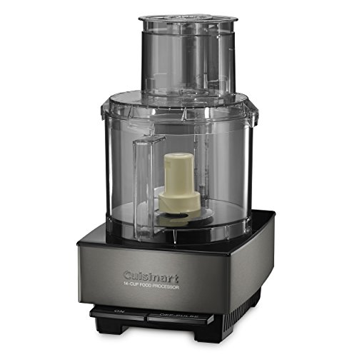 Cuisinart DFP-14BKSY Custom 14-Cup Food Processor, Black (Best Black Ass Tube)