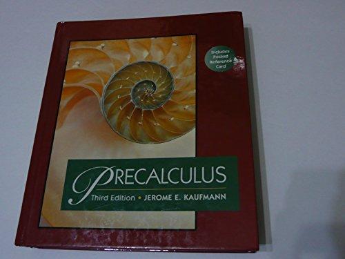 Precalculus (Mathematics)