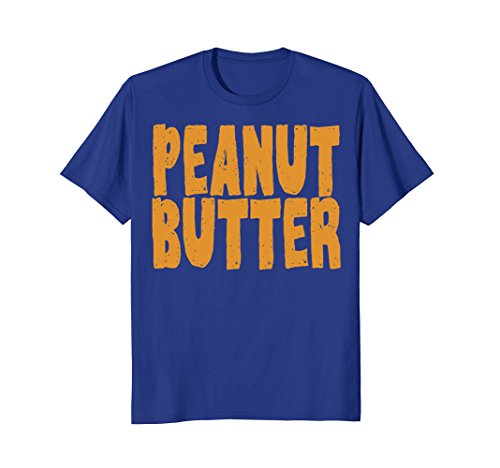 Mens Peanut Butter T-Shirt Jelly Couples Friends Halloween