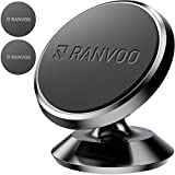 MAGNETIC Car Phone Mount, Ranvoo UNIVERSAL Magnet Dashboard Adhesive Car Mount Cell Phone Holder for iPhone X iPhone 7/8 Plus Samsung S8 S9 Plus LG GPS