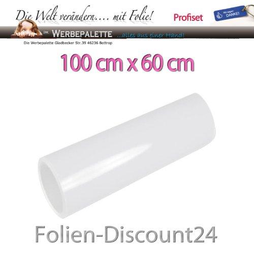 (EUR 7,42 / Quadratmeter) Aquarium Rückwandfolie Folie Terrarium WEISS 100 cm x60 cm TOP ! Preistip