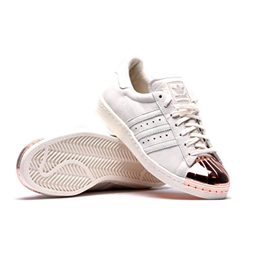adidas Superstar 80's Metal Toe, Baskets Mode Pour Homme Blanc Off White/Rose Gold - Blanc - Off White/Rose Gold,: Amazon.fr: Chaussures et Sacs