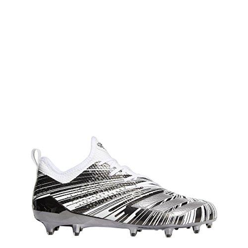 Adidas 5star 7.0 Metallico Tacchetta Mens Calcio Rame Metallizzato-nero-bianco