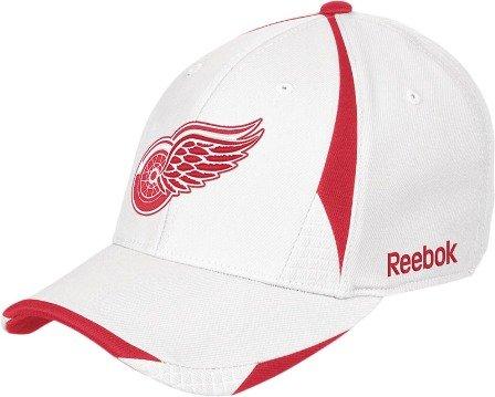 Reebok Detroit Red Wings 2nd Season Stretch Fit Hat - Detroit Red Wings Large/X -