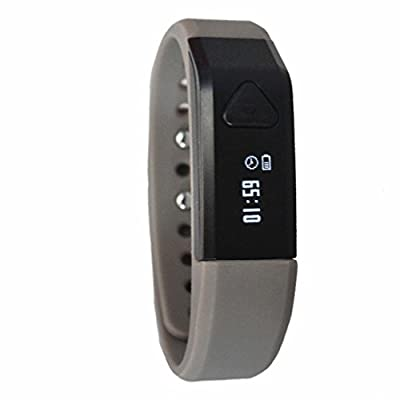 Toprime® PDM1102 Smart Band Wearable Technology Bluetooth Pedometer Smart Tracking Sport Fitness Monitors Waterproof Sliver