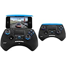 NIUTOP iPEGA PG-9028 Wireless Bluetooth Game Controller Gamepad with Touch Pad for iPhone iPod iPad iOS System, Samsung Galaxy Note HTC LG Android Tablet PC
