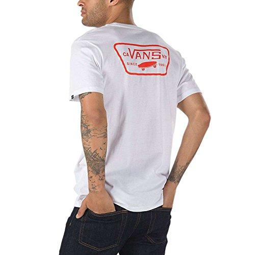 Shirt FLAME T WHITE Vans Hombre VA3H5KWHF 0Ezq7