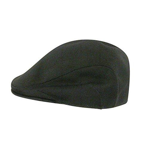 Kangol Mens Flat Cap - Kangol Men's Tropic 507 Hat - 6915Bc,Black,Large