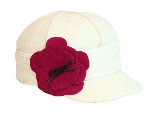 Stormy Kromer Women's Petal Pusher Cap,White,7.125