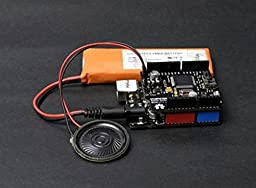 Speech Synthesis Shield For Arduino Open Source Hardware Maker DIY Maker/The Speech Synthesis Shield For Arduino Makes It An Easy Way To Give Voice To Your Robots And Projects