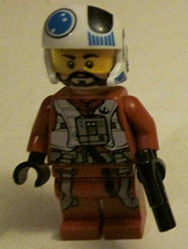 L Lego Star Wars Mini Figure - Resistance X-Wing Pilot]()