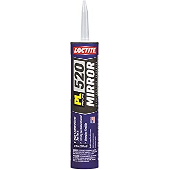 Loctite PL 520 Mirror Construction Adhesive 10-Ounce Cartridge (1650979)