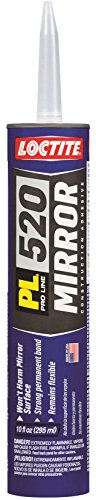 Loctite PL 520 Mirror Construction Adhesive 10-Ounce Cartridge ()