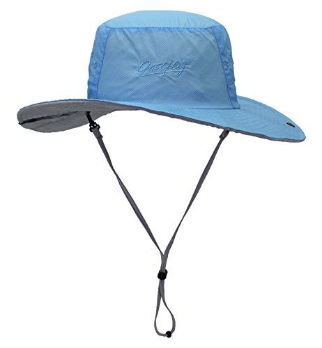 SUMOLUX Hat Light Anti UV Visor Outdoor Beach Travel Hats for Men Women Large Brimmed Fisherman Cap Spring Summer New (Fishermans Outdoor Light)