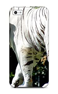 9411229K62578990 Anti-scratch And Shatterproof White Bengal Tiger Phone Case For Iphone 5c/ High Quality Tpu Case