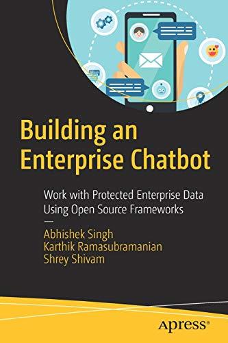 Building an Enterprise Chatbot Front Cover