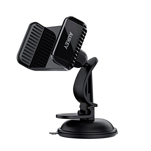 AUKEY Car Phone Holder Dashboard 360 Degrees Rotation Universal Car Mount...