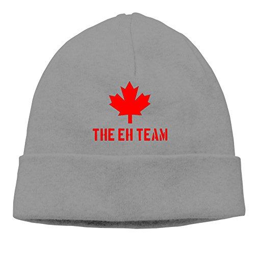 Canada Maple The Eh Team Winter Warm Knit Cap Beanie (Tax Software Canada)