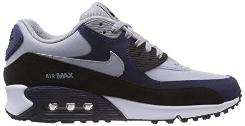 Nike Air Max 90 Mens Scarpe Running Da Uomo Lupo Grigio / Lupo Grigio-mid Navy-nero