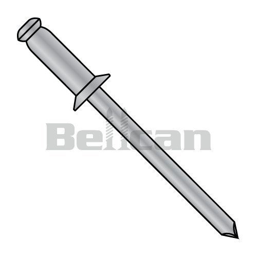 - Bellcan BC-ACA44 Countersunk Aluminum Rivet With Aluminum Mandrel 1/8 X .18-.25 (Box of 10000)