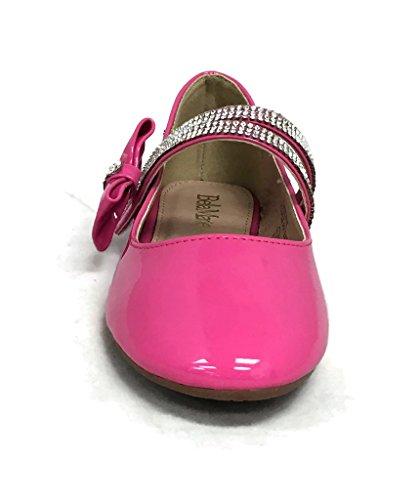 ANNA Kids Flats Ballet Dress Fuchsia fAwW1fvr