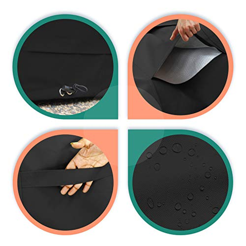 Ping Pong Table Cover for Indoor / Outdoor - Waterproof \u0026 UV Resistant Table Tennis Cover 12 Oz ...  sc 1 st  Wow for Homes & Ping Pong Table Cover for Indoor / Outdoor - Waterproof \u0026 UV ...