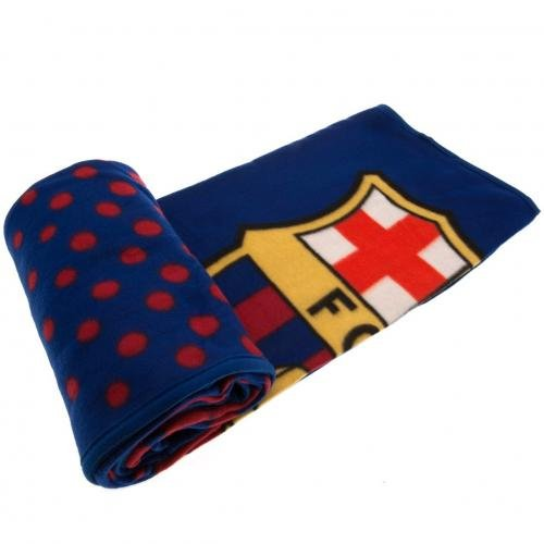 Barcelona FC Fleece Blanket fade Design by Premier Life Store