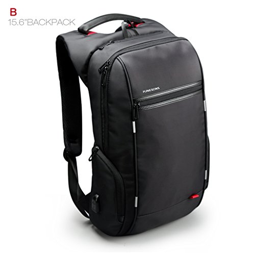 ToLuLu174; Professional Carry-on Slim Backpack 13''~15'' Laptop Compartent and External USB Port by ToLuLu