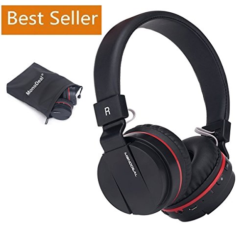 Active Noise Cancelling Wired/Wireless Bluetooth Headphones with Mic,Adjustable Foldable Lightweight on the Ear,Soft Memory-Protein Earmuff,Hi-Fi Stereo Headset for PC/Phones/ TV【Father's Day Gift】