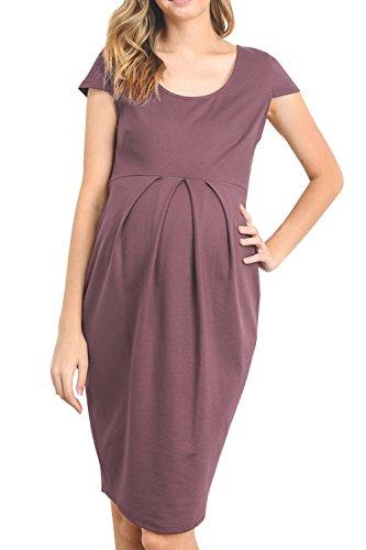 sandals Youxiua Womens Maternity Dresses Loose Scoop Neck Summer Cotton Cap Sleeve Ruched Midi Dress