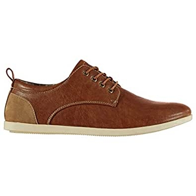Soviet Capel Cushioned Lace Up Shoes Mens Smart UK 8 (42) Tan