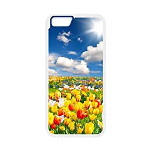 iPhone 6,6S Phone Case With Flowers Cards Pattern