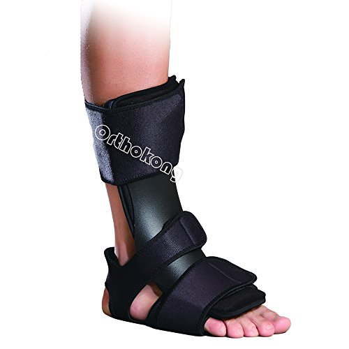 2017 Dorsal Night Splint Orthoapaedic Rehab Overnight Treatment For Plantar Fasciitis/Achilles Tendonitis/Drop Foot/Post-Static Pain (S/M)