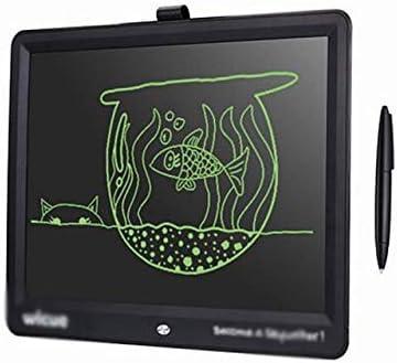 LKJASDHL 15インチ高輝度厚い手書きタブレットLCDスマートライティングボード会議オフィス子供教育グラフィックグラフィックタブレット描画と光のおもちゃ (色 : ブラック)