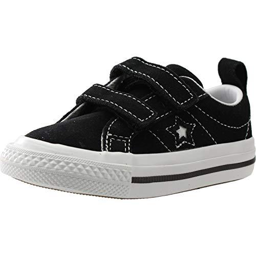 Lifestyle Black One Pantofole Bimbo white Star Nero 001 Converse 2v Ox 1zZw1qd