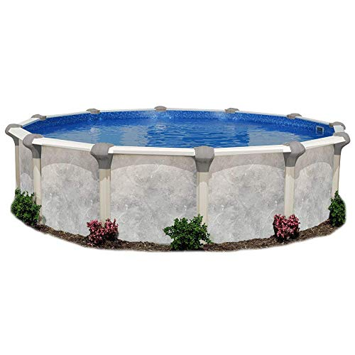 (Tahitian 16 Foot Round Resin Frame Above-Ground Pool from the Makers of Doughboy)