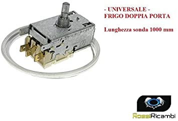 Termostato universal nevera Ranco K59 L1260 3 contactos doble puerta nevera