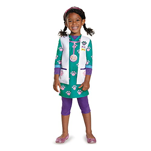 Doc Pet Vet Classic Costume, Medium (3T-4T)