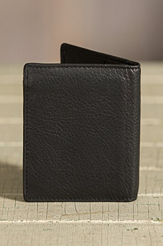 Black Argentine Billfold Protection RFID Leather with Leather Argentine Wallet a7qf8w74