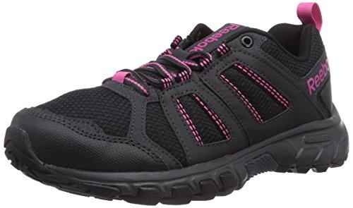 Reebok DMXRide Comfort RS 3.0 - Zapatillas de deporte, Unisex Negro / Gris / Rosa / Blanco (Black / Gravel / Graphite / Pink)