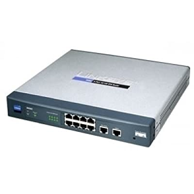 Cisco RV082 Highly Secure, Reliable Connectivity for the Small Business Network, Dual WAN VPN Router