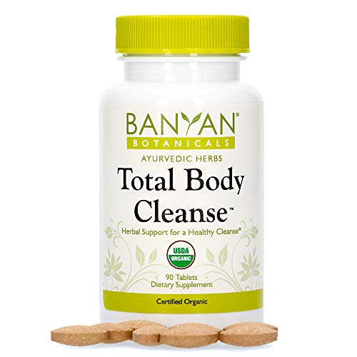 Banyan Botanicals Total Body Cleanse - Organic Detox Supplement with Amla & Manjistha - Supports Ayurvedic Cleanses, Detoxification, Liver Function* - 90 Tablets - Non GMO Sustainably Sourced Vegan