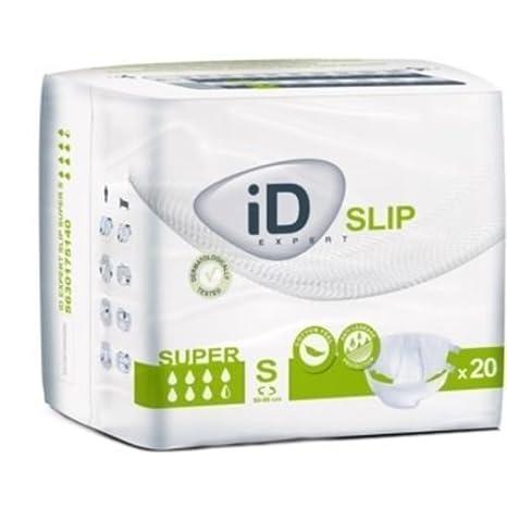 iD Slip - Pañales para adulto, tamaño pequeño, tamaño súper grande