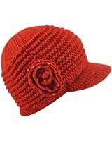 Betmar Flower Cap (Red)