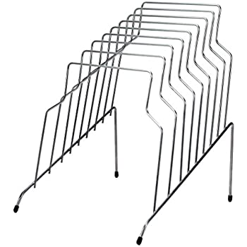 Fellowes Step File, 8 Sections, 10.12 x12.12 x 11.87 Inches, Wire, Silver (72604)